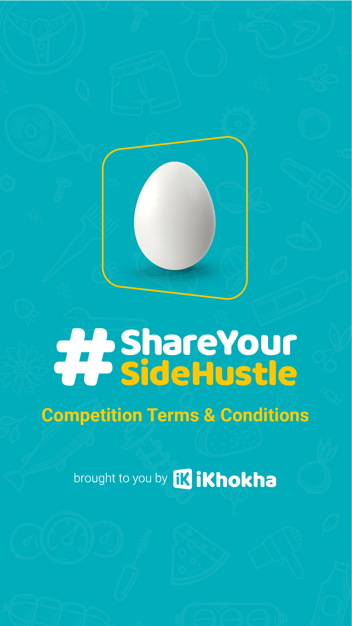 Side Hustle Campaign: Social Media Terms and Conditions